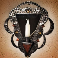 Tin-wall-sconce-caandleholder